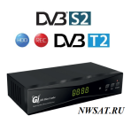 Ресивер GI Slim Combo HD DVB S2/T2 (Galaxy Innovations)